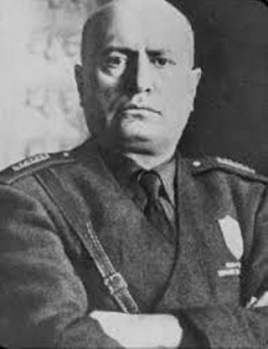 Benito Mussolini Italy