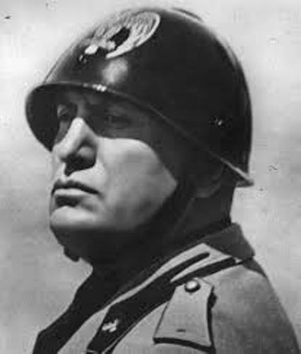 mussolini fact file mussolini fact file birth: born july 1883, in predappio, romagna son of a blacksmith and a schoolmistress school: went to a local school he was hard to control.