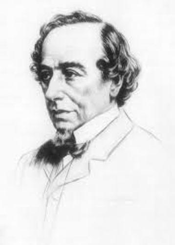 Benjamin Disraeli Sketch