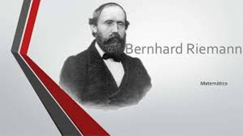 Bernhard Riemann Image