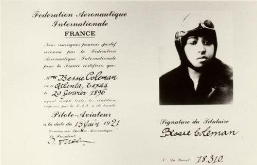 Bessie Coleman Pilot