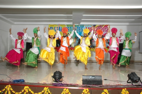 Bhangra Dancing Performance