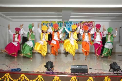 Bhangra Dancing Performance