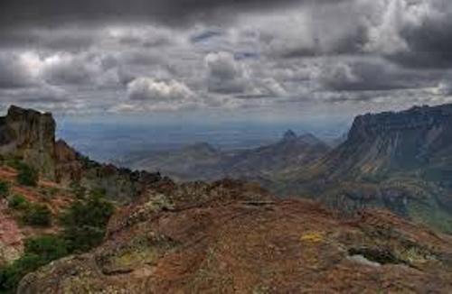Big Bend National Park Landscape
