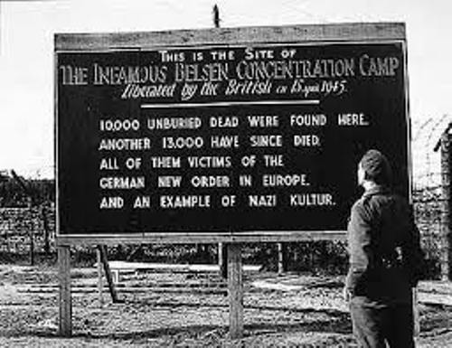 Facts about Bergen Belsen Concentration Camp