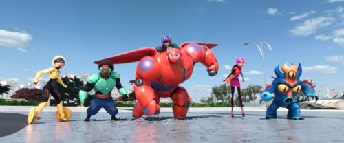 Facts about Big Hero 6