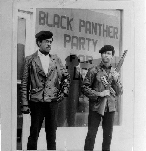 Black Panther Party Gun