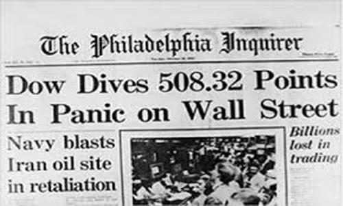 Black Tuesday Wall Street