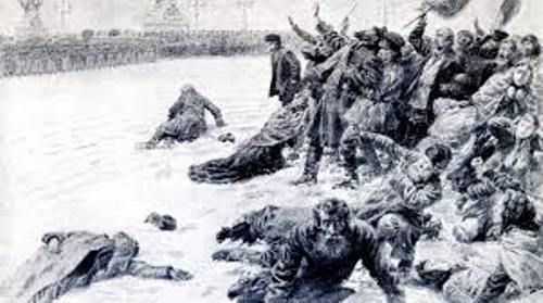 Bloody Sunday Russia Picture
