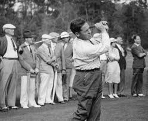 Bobby Jones Golfer