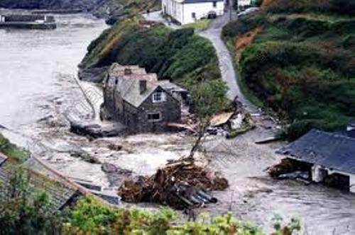 Boscastle Floods 2004