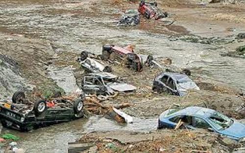 Boscastle Floods Image
