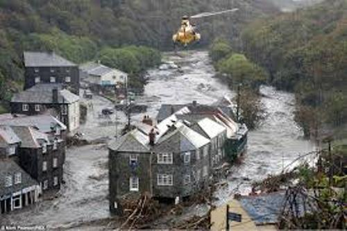 Boscastle Floods Picture