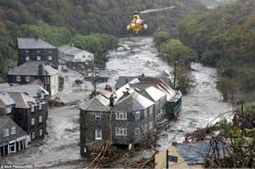 Boscastle Floods Picture