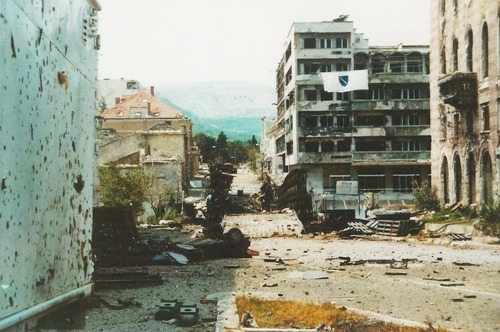Bosnian War Picture