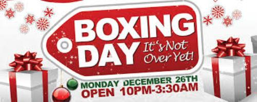 Boxing Day Pic
