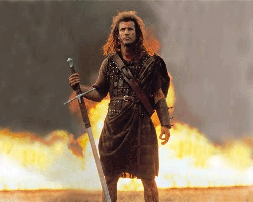 an analysis of the first war of scottish independence in braveheart by mel gibson Braveheart is a 1995 historical drama film directed by and starring mel gibson who led the scots in the first war of scottish independence against king.