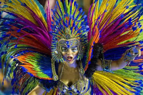 Brazil Carnival Queen