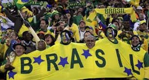 Brazil Football Team Supporters