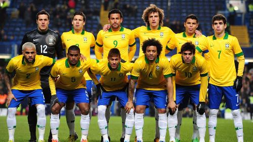 Brazil World Cup 2014 Match