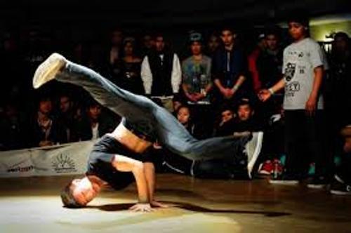 Breakdancing Style