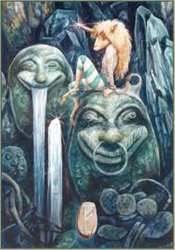 Brian Froud Painting