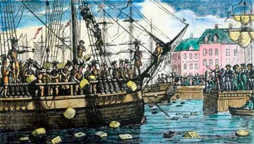 Facts about Boston Tea Party