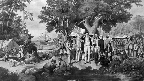a history of the british penal colonization of australia Australia's penal colony roots find this pin and more on australia history british colonization australia architecture elements of british colonial decor.