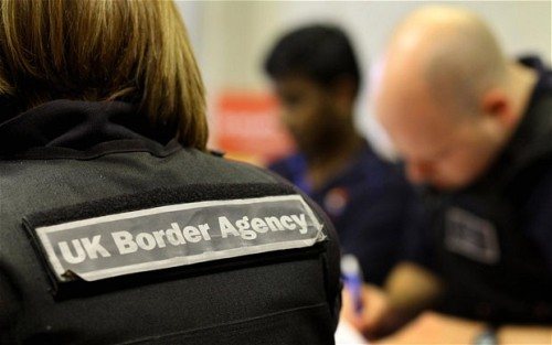 British Immigration Image