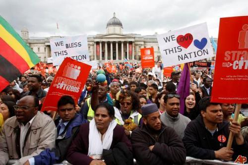 British Immigration Pic