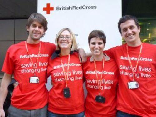 British Red Cross Members