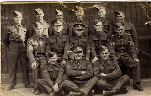 British Soldiers in WW2 Image