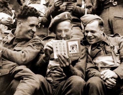 British Soldiers in WW2 Picture