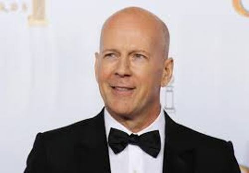 Bruce Willis in Suit