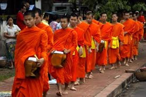 Buddhist Monks Life