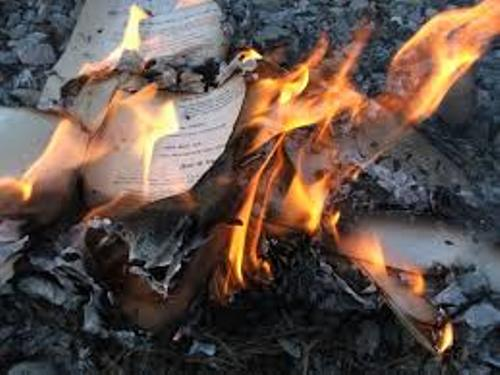 Burning Facts