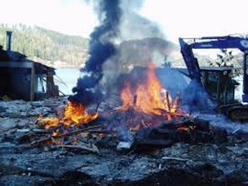Burning Materials