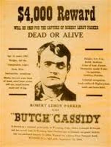 Butch Cassidy Wanted
