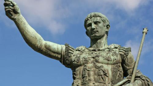 Caligula Statue