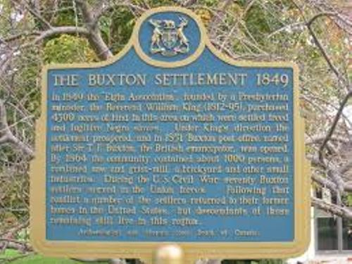 Buxton Canada facts