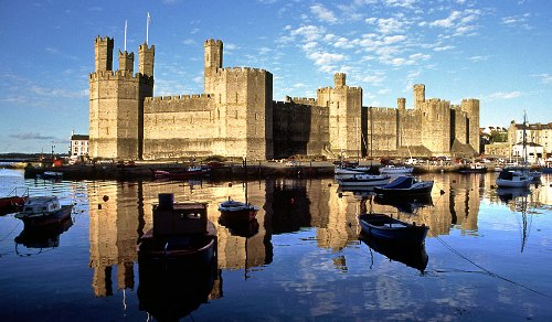 Caernarfon Castle Facts