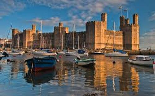 Caernarfon Castle Picture
