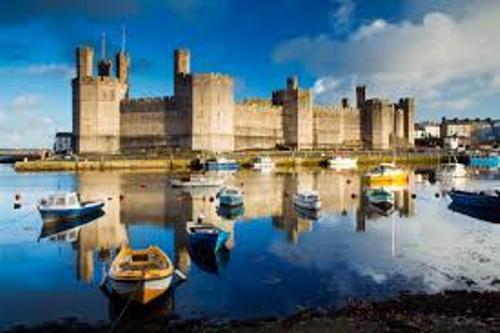Caernarfon Castle beauty