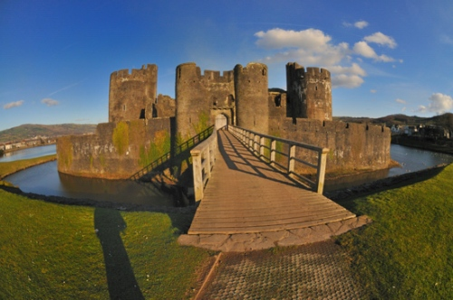 Caerphilly Castle Image