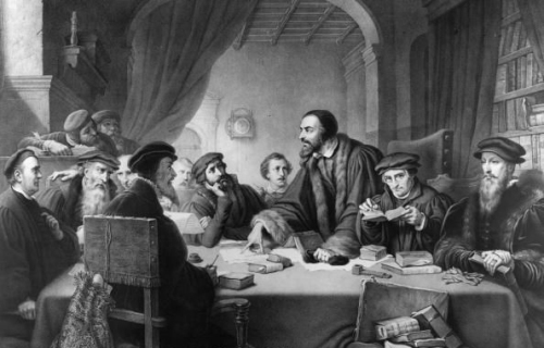 martin luther and john calvin the important leaders of the protestant reformation Popes and cardinals often lived more like kings than spiritual leaders popes  (notably by john wyclif  introduction to the protestant reformation: martin luther.