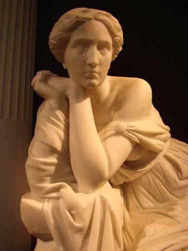 Calypso Statue