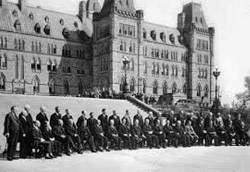 Canada Cabinet in The British Empire