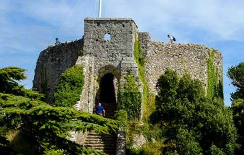 Facts about Carisbrooke Castle