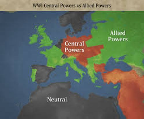 Central Powers Map
