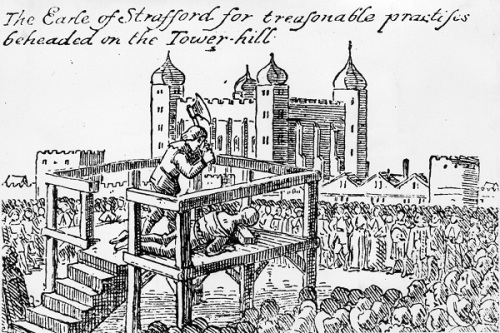 Charles 1st Execution Image
